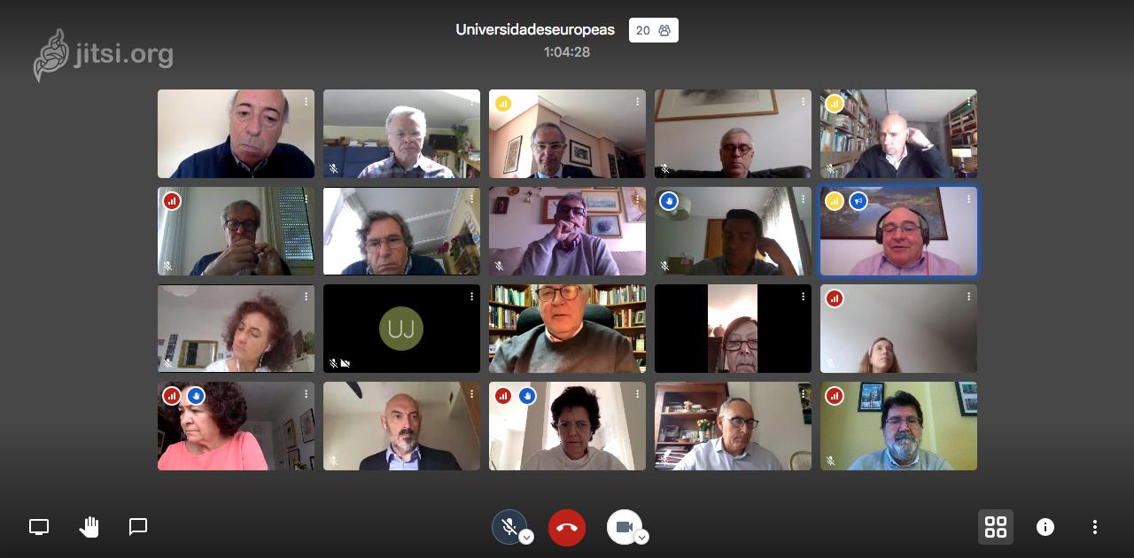 Las Universidades Europeas se reúnen por videoconferencia con el Secretario General de Universidades del Ministerio de Universidades