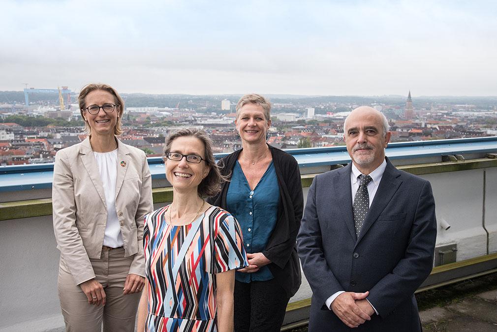Una Delegación SEA-EU de la Universidad de Cádiz visita la Universidad de Kiel